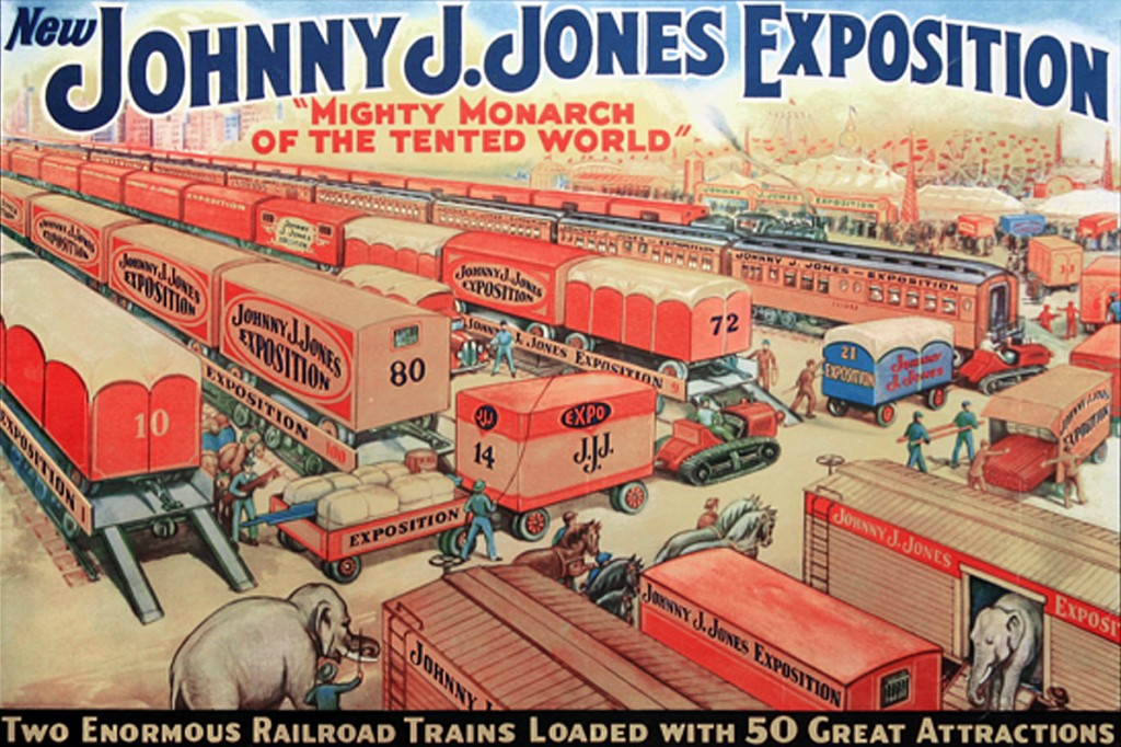 "alt=""The Great Johnny J. Jones, an Early ""Master Showman"""