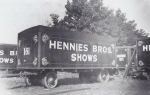 Hennies Bros. wagon lineup (wagon #161 in the forground)...early 1940's.jpg