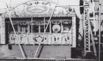 Rubin & Cherry band organ displayed on the midway between two Ferris Wheels  1930's.jpg