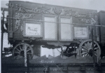 Christy Bros Circus ....1929-(Mirror-Tableau) Loaded on a wooden flat car.jpg