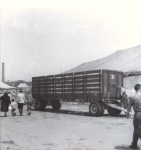 Ringling canvas wagon...1955.JPG