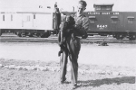 R B B B lepoard and trainer...1950.JPG
