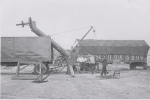 Raising the pole on the Spitfire.... Cetlin Wilson Shows Midway...1952.JPG