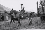 The 'lot man' known by the distinctive hat and horse...1930's.JPG