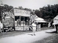 Snake Show on the Dell & Travers midway....1960's.JPG