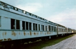 abandoned cars on the James E Strates train in 1972.jpg