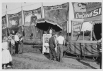1940's Clyde Beatty Circus Side Show Bannerline.