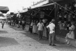 Joint lineup at Delaware St. Fair midway  1957.jpg