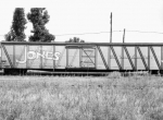 Johnny J. Jones Carnival Baggage  Train Car 1940's