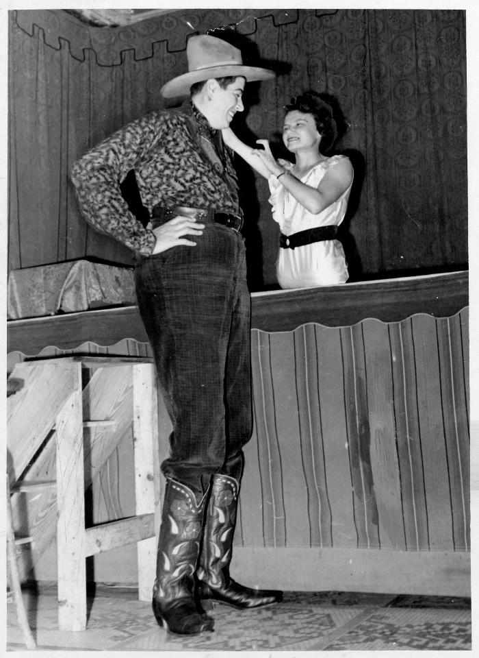 Al The Giant And Jeanie The Half Girl Tomaini