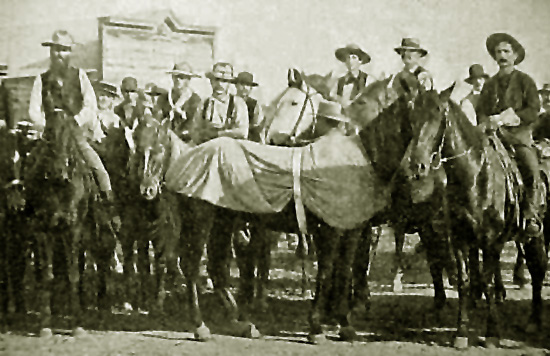 "alt=""Buffalo Bill Cody's Great Cowboy Endurance Race"""