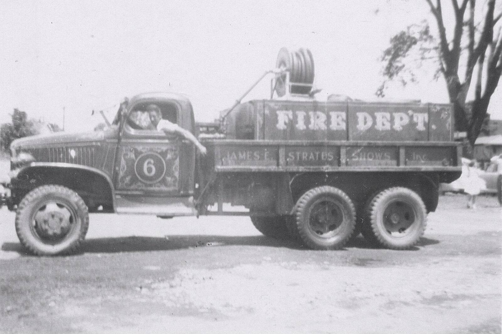 Carnival Shows Had Their Own Fire Department