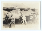 Dave Costello - Irene Mongomery, riders...clown-  Walter Goonenough.  On the Hagenbeck-Wallace   1920.jpg