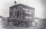 Hennies Bros. Shows 'Hot Wagon'. (#1)..1940's.jpg