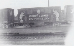 J J J office  wagon on the flats ...1930's.jpg