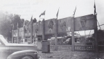 J. J. J. 'war time' front gate with a view of the front of the midway....jpg