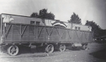 Unique 'double' load. Hennies Bros. fun house wagons.....1940's.jpg