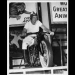 1953 Motor Drome rider.