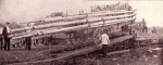 Unloading the pole wagon....1903.jpg