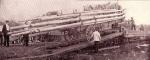 Unloading the pole wagon....1903.jpg
