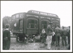 Three Arch Animal Wagon on the Cole Bros.1939.