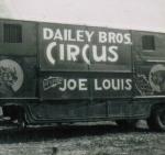 Daily Bros Circus wagon featuring the 'Great Joe Louis'.JPG
