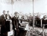 Well-dressed crowd waiting for the doors to open. Ringling Bros. Circus (before the merger) circa 1902..jpg