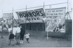 'Pit show' on the James E.Strates Shows..1960's.