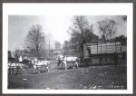 Bleacher wagon on the Hagenbeck Wallace...1905