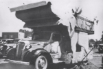 Dodsons World Fair Shows band wagon truck...1930's.JPG