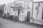 Girl show on the Penn Premire Shows midway..1955.JPG