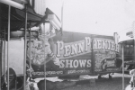 Penn Premire Merry Go Round and semi trailer..1955