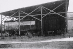 Ringling wagon shed...1930's.JPG