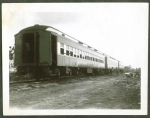 Sparks train on the siding..1946.JPG