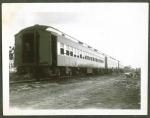 Sparks train on the siding..1946.JPG