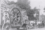 Tableau wagon on the 101 Ranch Wild West Shows..JPG