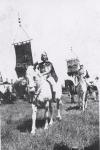 Tom Mix Circus on parade...1930's.JPG