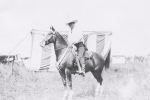 Tom Mix on his wonder horse..1930's.JPG