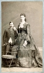 World's Tallest Woman...1880's ( Name unknown ).JPG