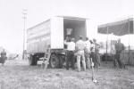 set up day on the R B B B..1950.JPG