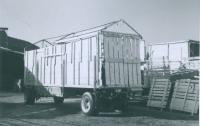Worlds Finest Shows Ride wagons.1950.JPG