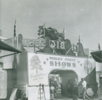 Worlds Finest Shows front gate...1950's.JPG