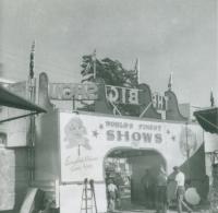 Worlds Finest Shows front gate...1950's.JPG