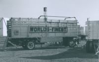 World's Finest Shows ride wagon..1950's.JPG