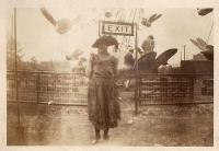 Woman & unidentified ride.JPG