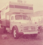 My brand new truck mounted living quarters somewhere in Montana on the West Coast Shows.jpg