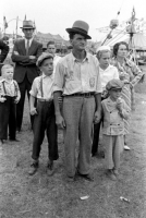 W.Virginia people watch a side show bally...1938.jpg