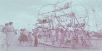 Unusual Kiddie Ferris wheel ( unknown midway)...1950's.JPG