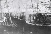 Under the John Robinson big top..1919.JPG