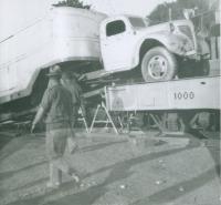 Truck on the runs..Worlds Finest Shows..1950's.JPG